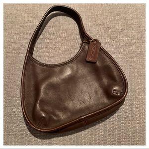 Vintage! Coach Ergo Lagacy Brown Leather Mini Bag